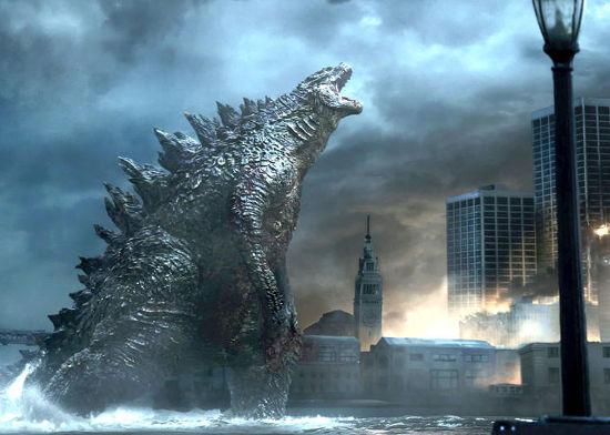 """""""Godzilla"""" is out of control. A Warner Bros. film"""