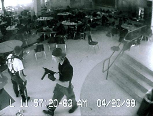 Columbine Shooting Security Camera