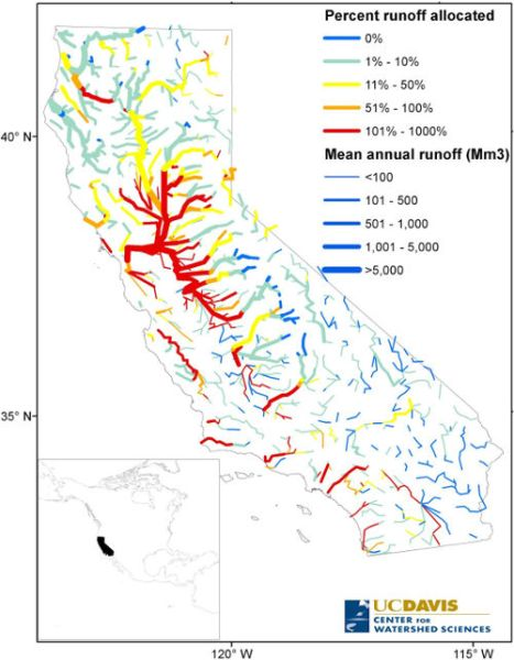 california water allocation