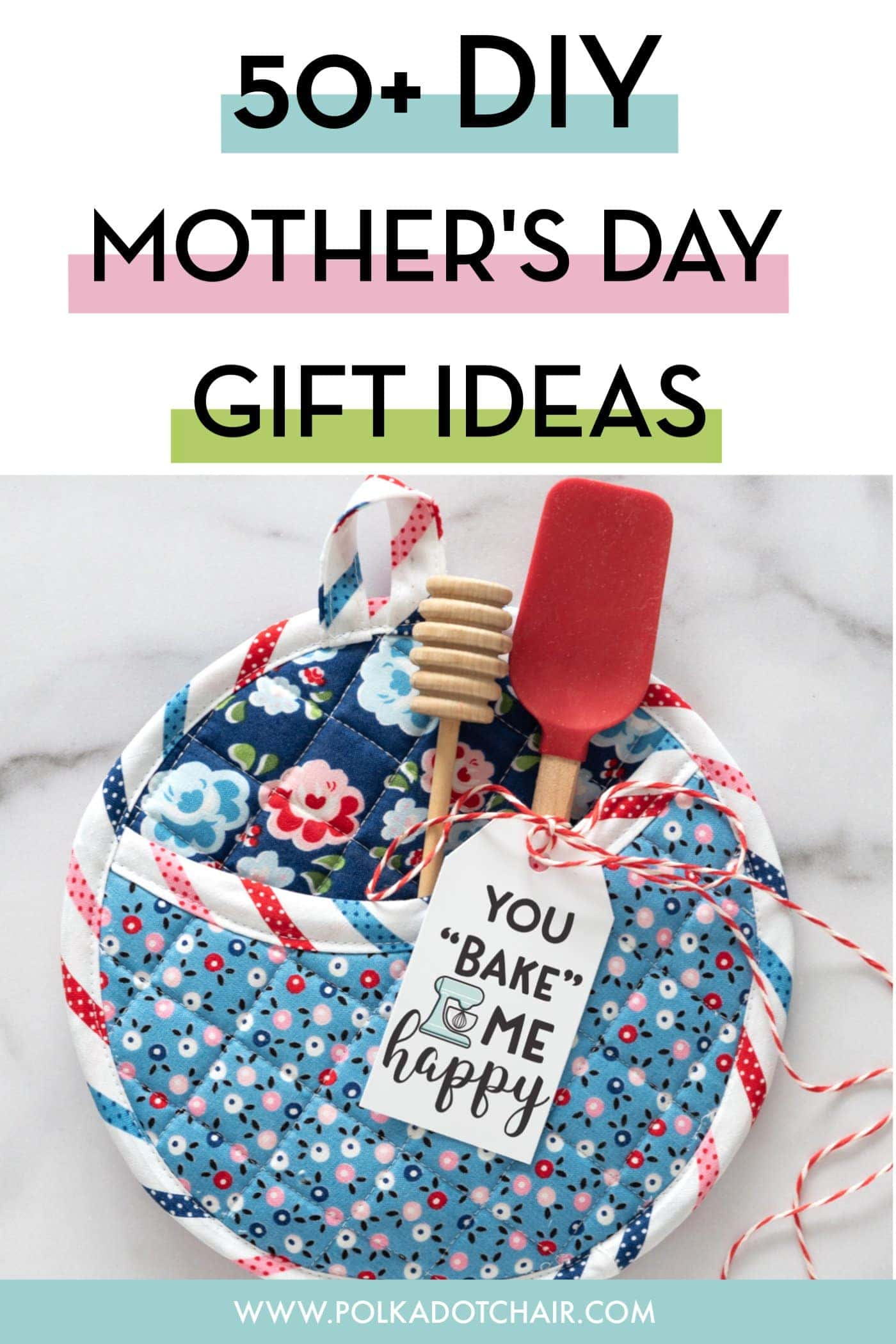 Awesome Diy Mother's Day Gifts 50 Diy Mother S Day Gift Ideas Projects The Polka Dot Chair