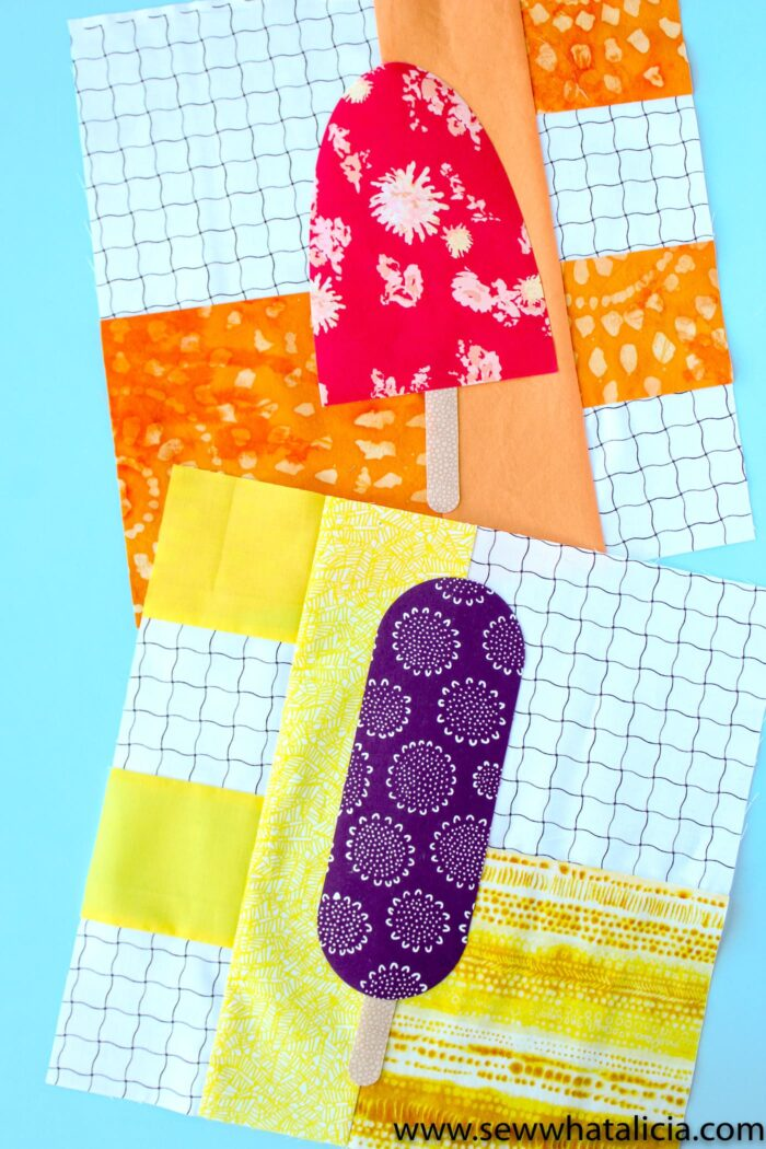 Quilt Blocks Popsicle Quilt Block Pattern - The Polka Dot Chair