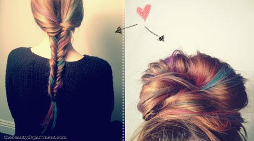Chalk Pastel Hair Colour!