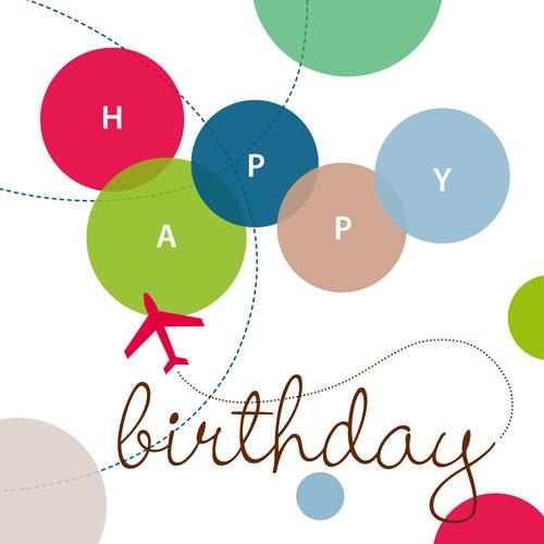 Just Smitten Birthday Balloons Birthday Card