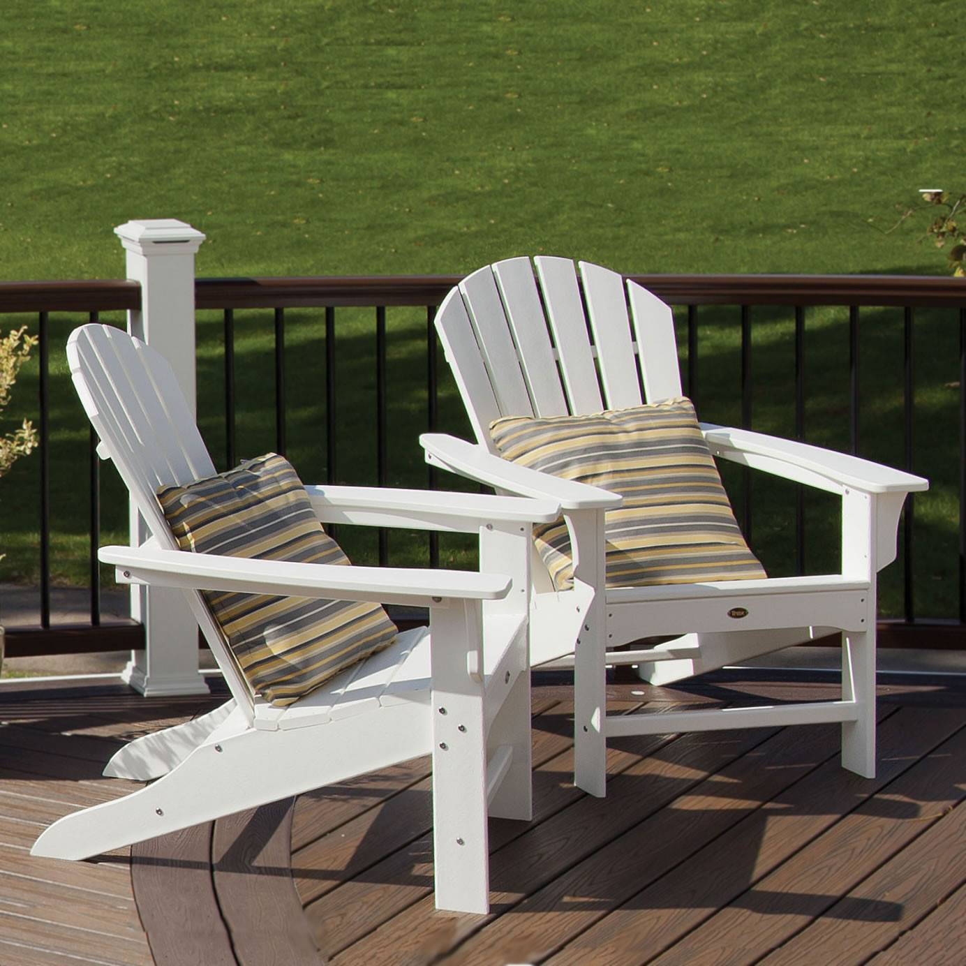 Trex Outdoor Furniture Adirondack Chairs - Garden Furniture Clearance Leasowe Castle