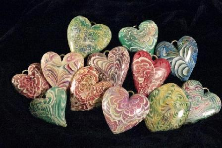 photo by Robert Burrill, hearts by Elissa Powell