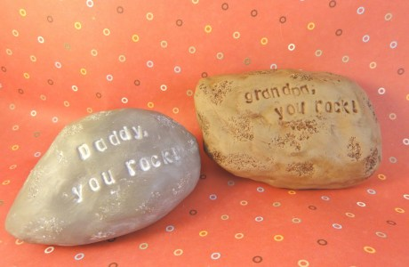 Tutorial: Father's Day Rocks