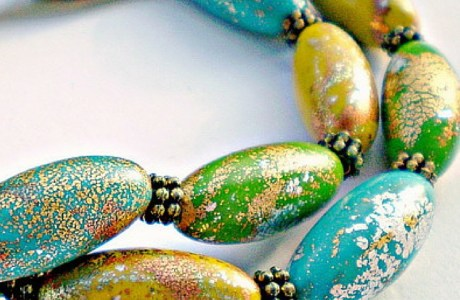 Tutorial: Cheerful Crackle Beads