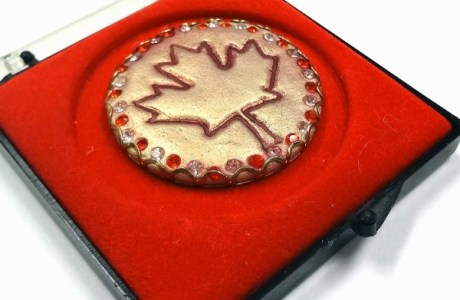 Tutorial: Stamped Canada Day Keepsake