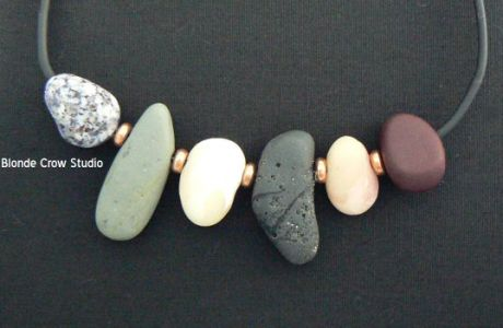 Polymer Clay River Rocks and Beach Stones