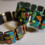 Picture of Scrap Clay Veneer Bracelet by Nancy B