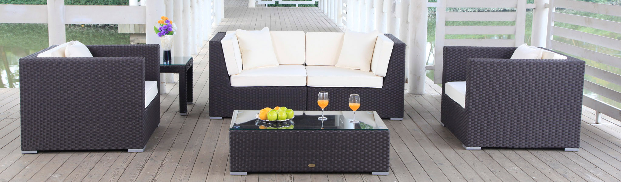 Polyrattan Lounge Günstig Poly Rattan Lounge Furniture Garden Furniture