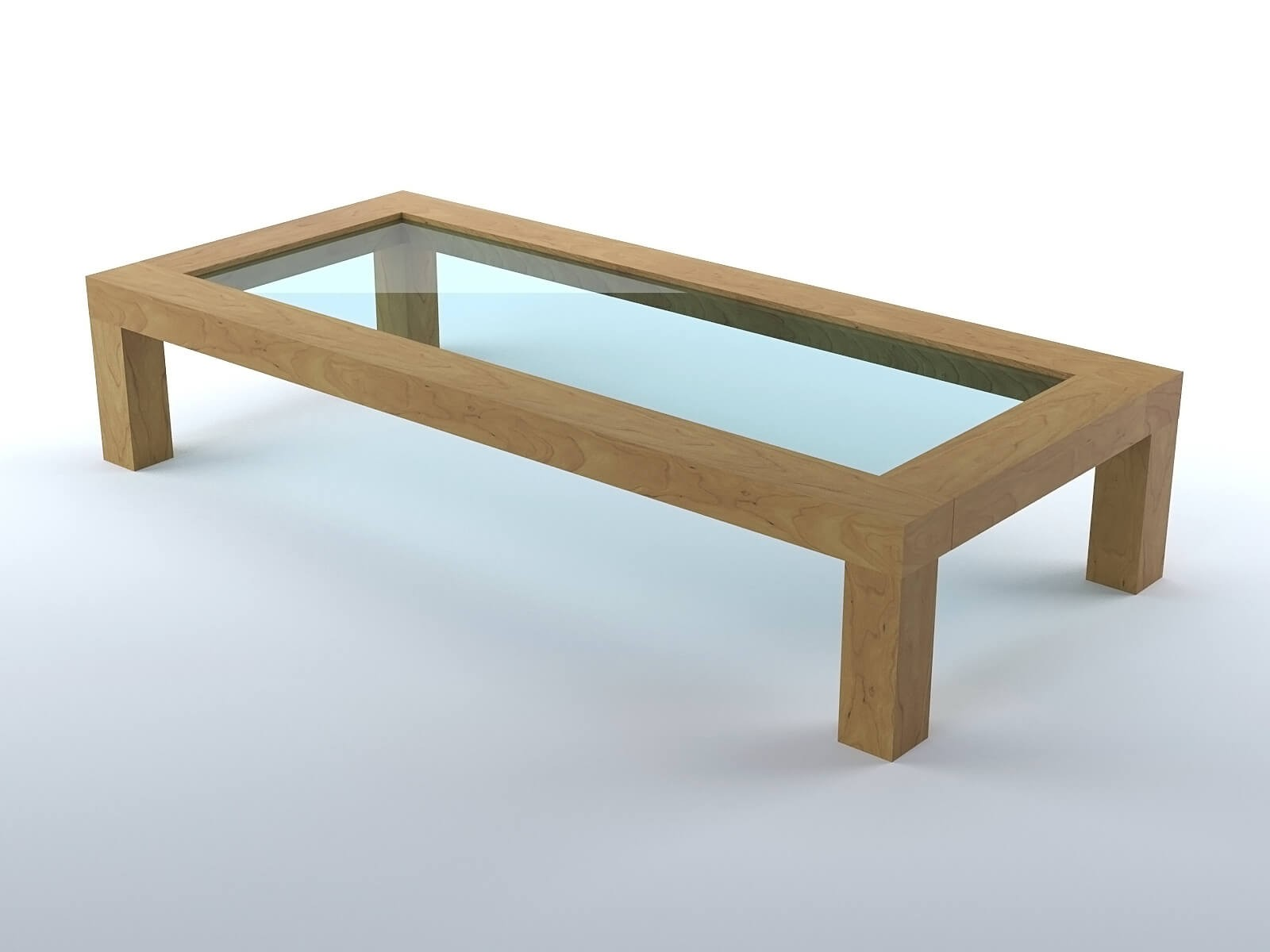 Tables Basses De Salon Pliantes Table Basse De Salon En Bois Modèle 3d