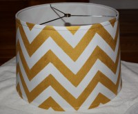 Chevron Lamp Shade DIY | Pomp And Circumstance