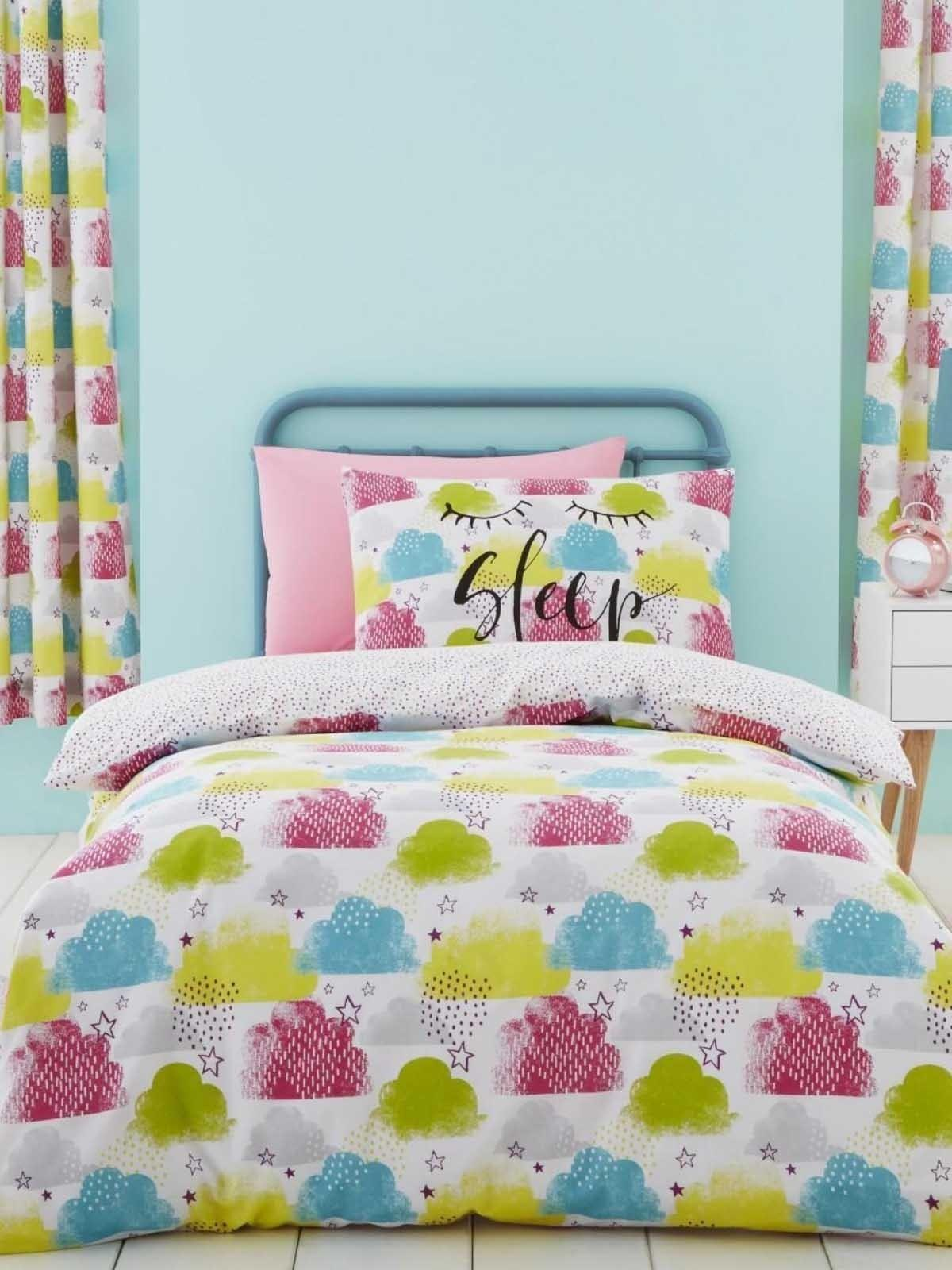 Catherine Lansfield Christmas Bedding Catherine Lansfield Clouds Bedding Collection Multi Ponden Home