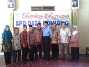 Pengurus BPD Desa Ponjong