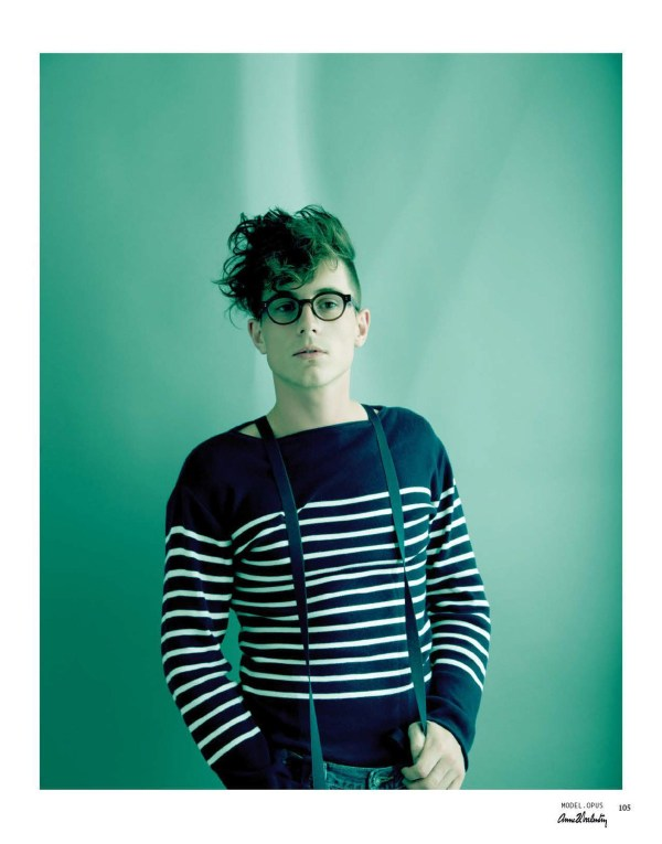 ANNE ET VALENTIN LOOKBOOK Silmo2013 メガネ写真集 78