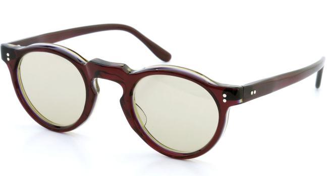 Lesca レスカ Vintage Panto type-A W.B.Y.sand 6mm (v2) Light-Brown-lense