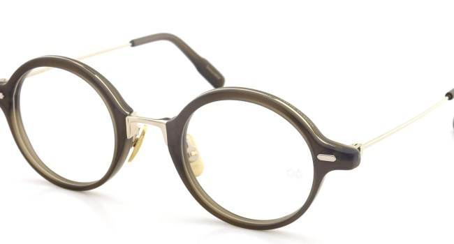 OG × OLIVER GOLDSMITH メガネ Innovator 45size Col.115-2