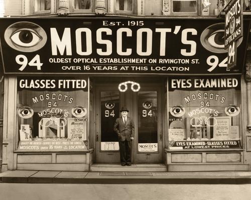 MOSCOT の入荷