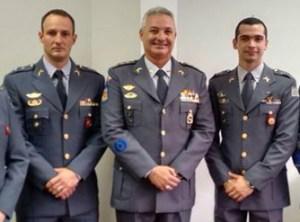 Tenente Derrite, coronel Telhada e tenente Telhada (Foto: Reprodução/Facebook)