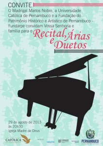 CONVITE MADRIGAL  piano