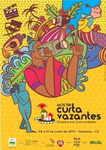 Curta Vazantes Cartaz 2015