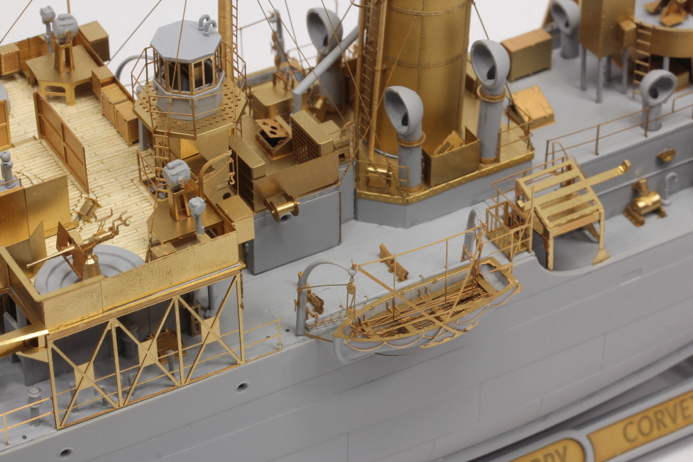 Model One 1/144 Hmcs Snowberry Flower Class Corvette Detail Up Set