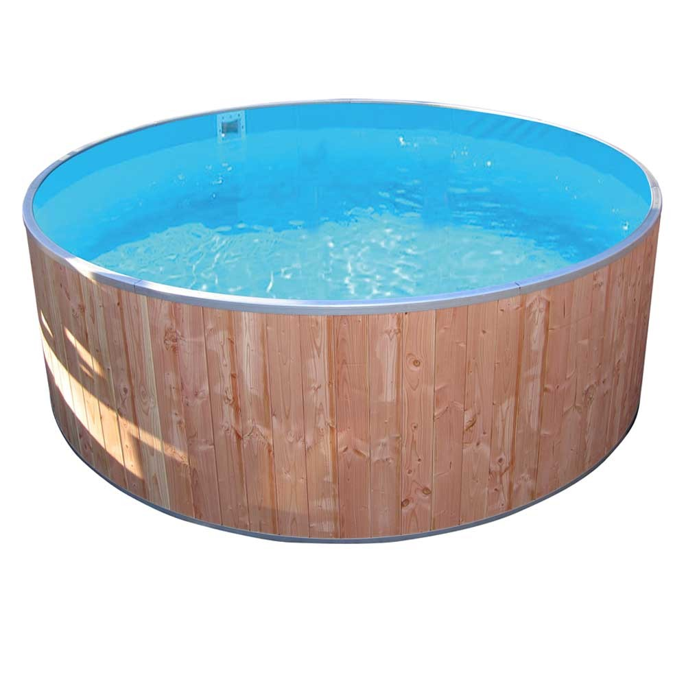 Future Pool Abdeckung Protect Kinderbadebecken Fun Wood Innenhülle 6 Mm Blau