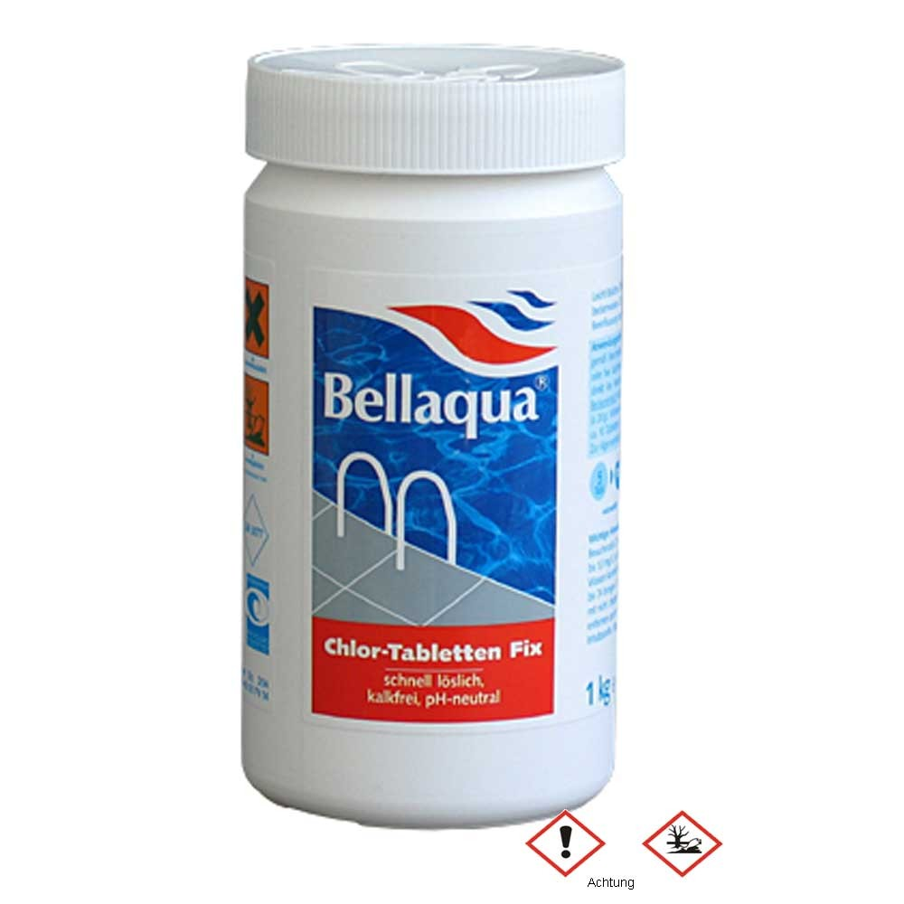Multitabs Pool Auflösen Bellaqua Chlor Tabletten Fix 1 Kg