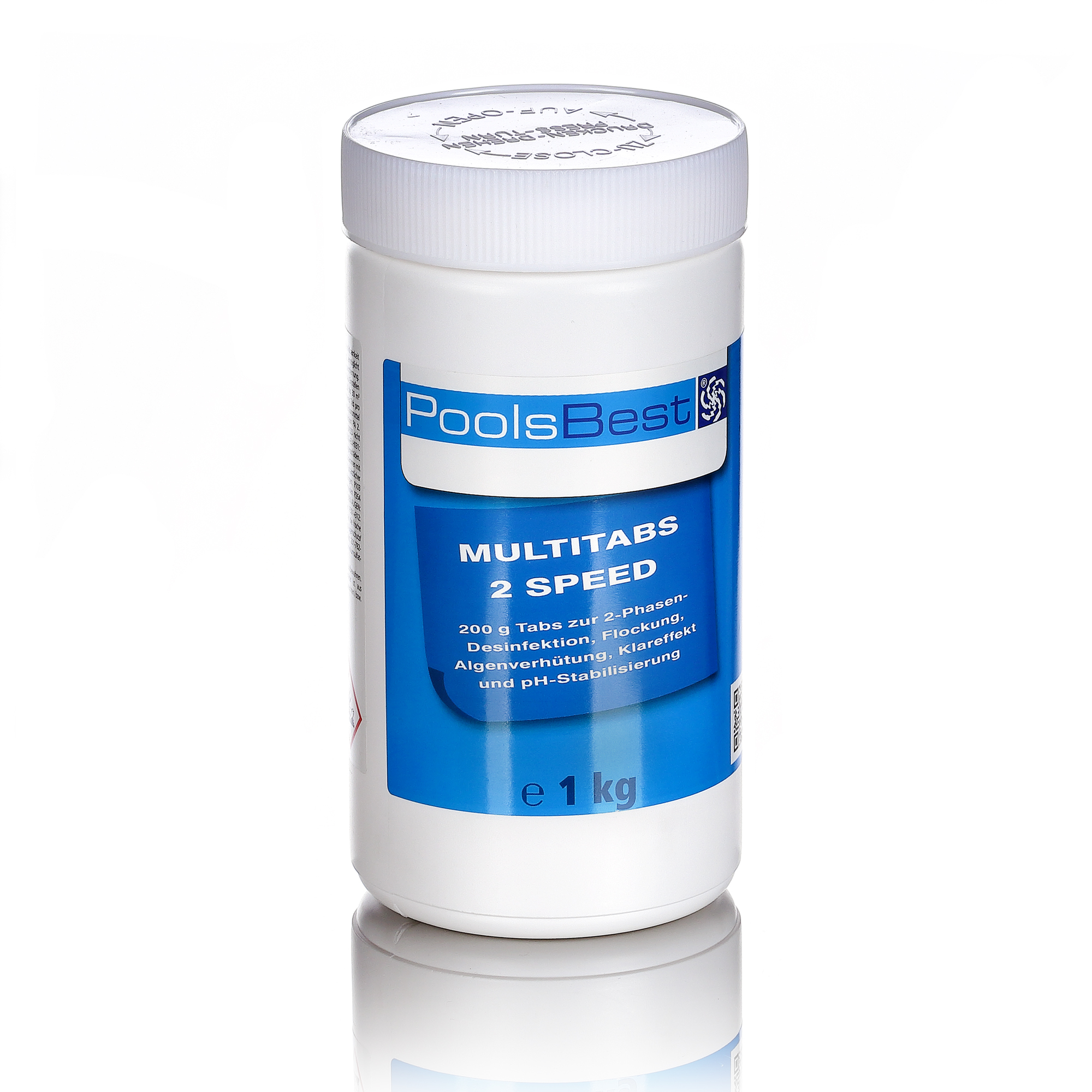 Chlortabletten Pool 5 In 1 1 Kg Poolsbest Multi 2 Speed 6 In 1 Tabs Schnell