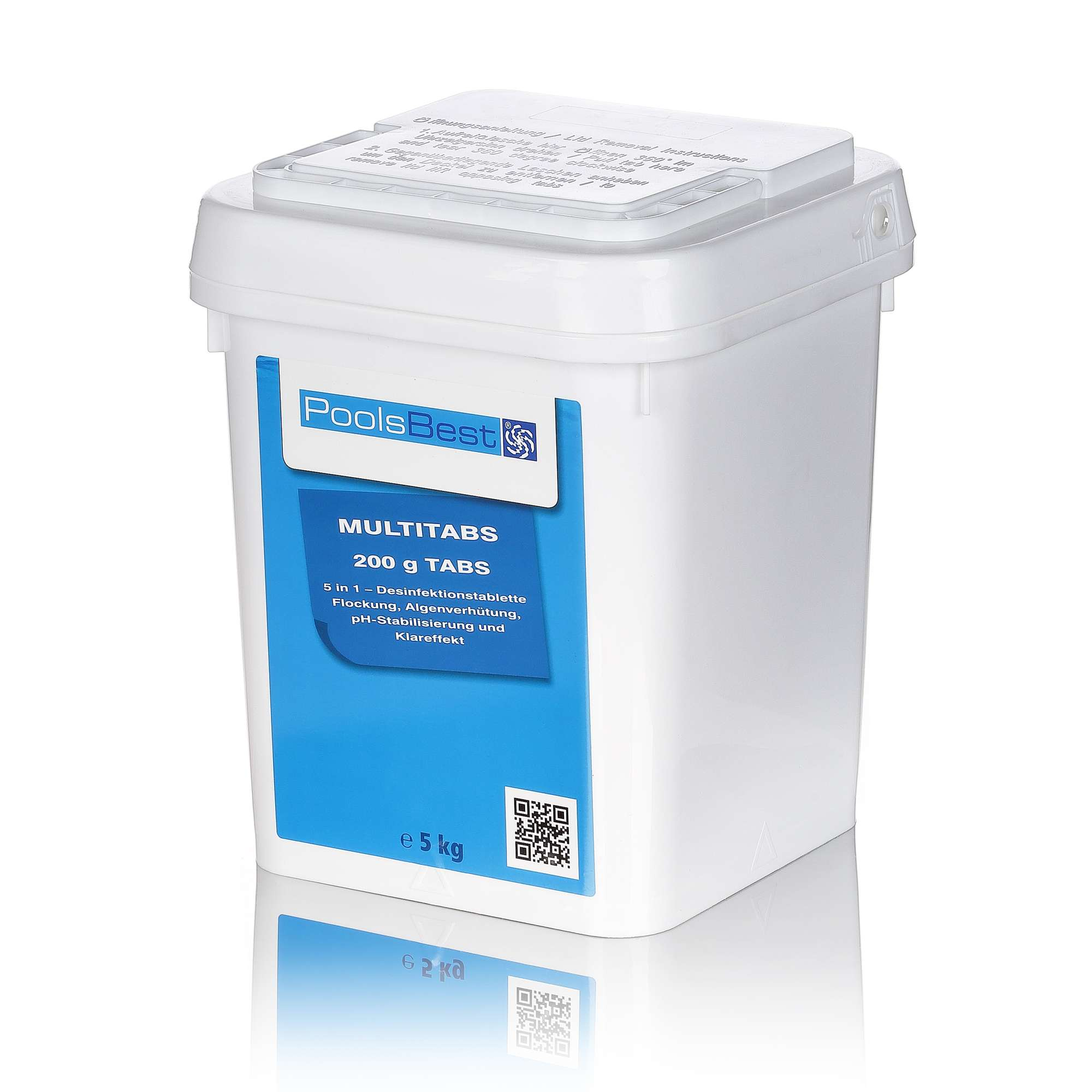 Chlortabletten Pool 5 In 1 Poolsbest Chlor Multitabs 5in1 Hauspool