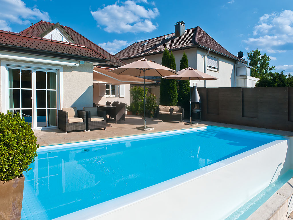 Pool Privat Bauen Infinity Pool Mit Farbenspielen Pool Magazin