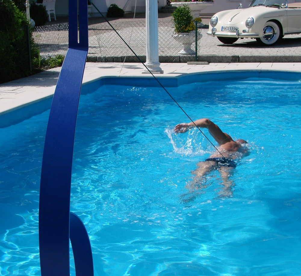 Pool Bodensauger Manuell Schwimmtrainer Royal