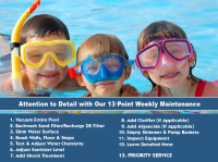 Weekly Maintenance - Pool & Patio Center