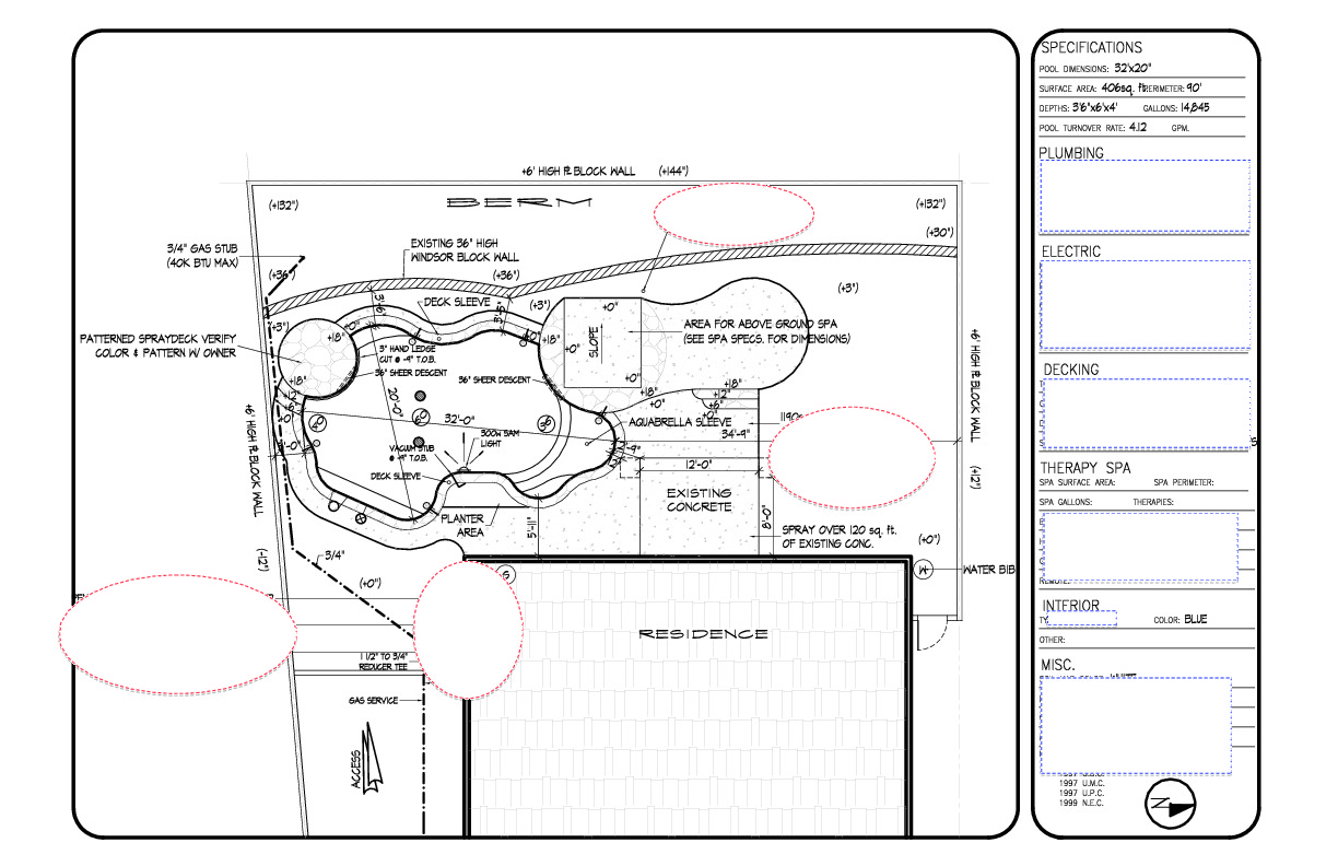 piping diagram for swimming pool