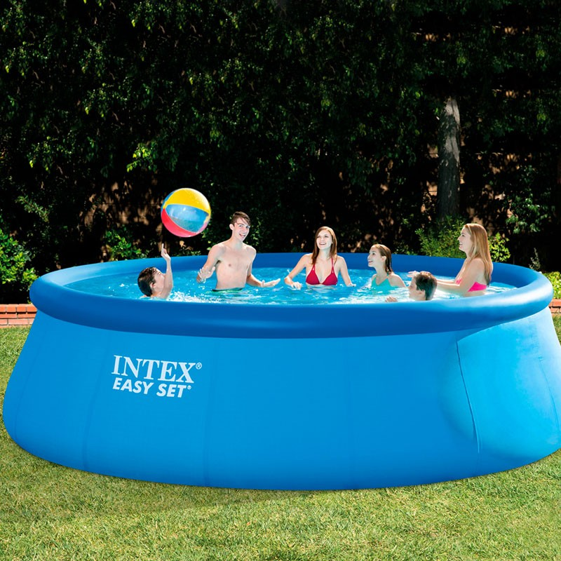 Intex Piscinas Desmontables Piscina Intex Easy Set 457x122 Set Completo 26168np | Poolaria