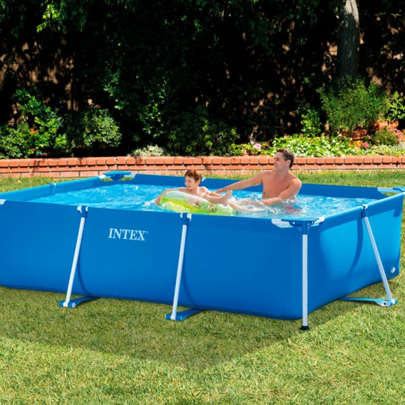 Intex 300x200x75 Piscina Intex Small Frame 300x200x75 28272np | Poolaria
