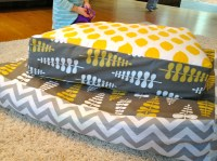 Giant Floor Pillows  Poole Party of 5