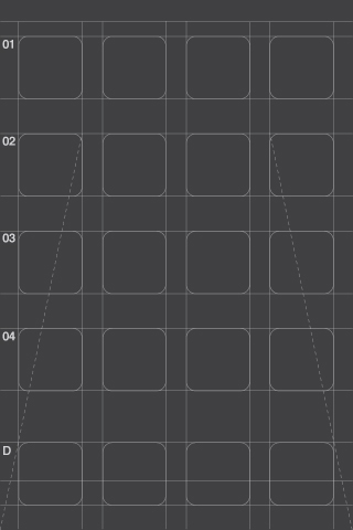 Iphone X Blueprint Wallpaper Poolga Effektive Dark Gray Grid