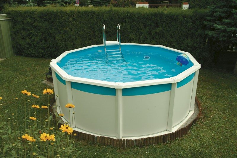 Pool Komplettset Mit Einbau Poolinsel Baumgartner | Poolundzubehoer | Pools