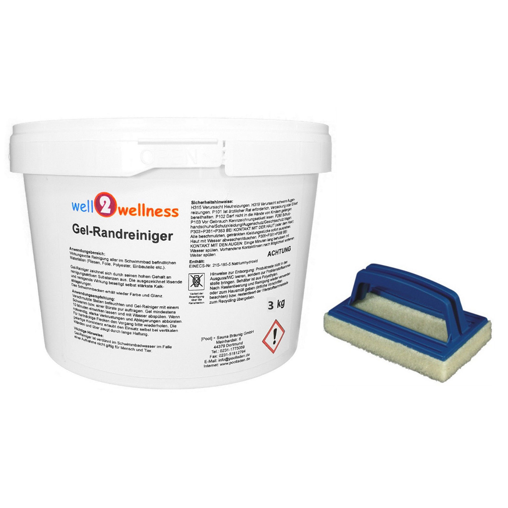 Multitabs Pool Erfahrungen Pool Gel Randreiniger 3 Kg Plus Reinigungspad