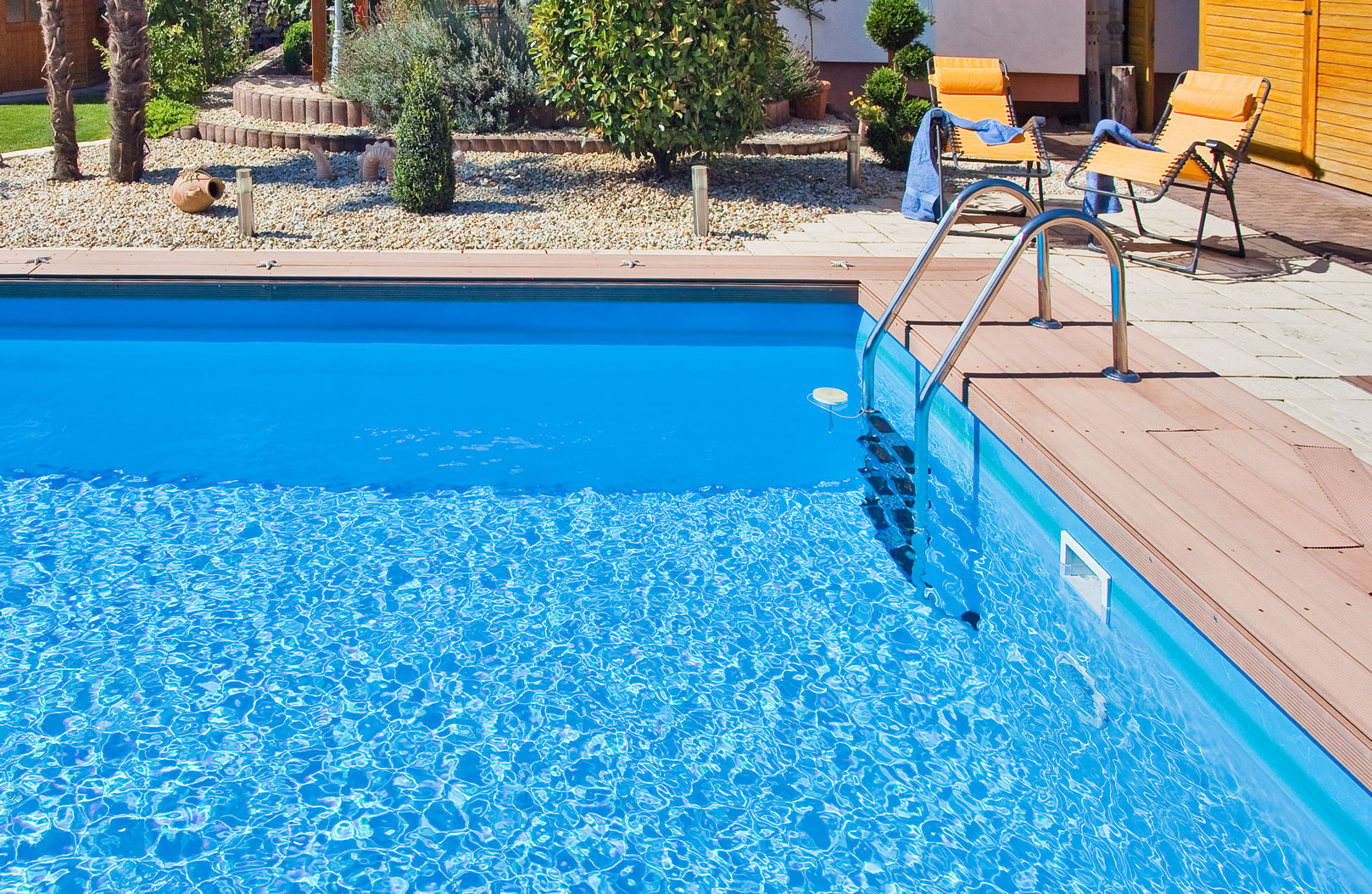 Kleiner Gfk Pool Home - Poolmaris
