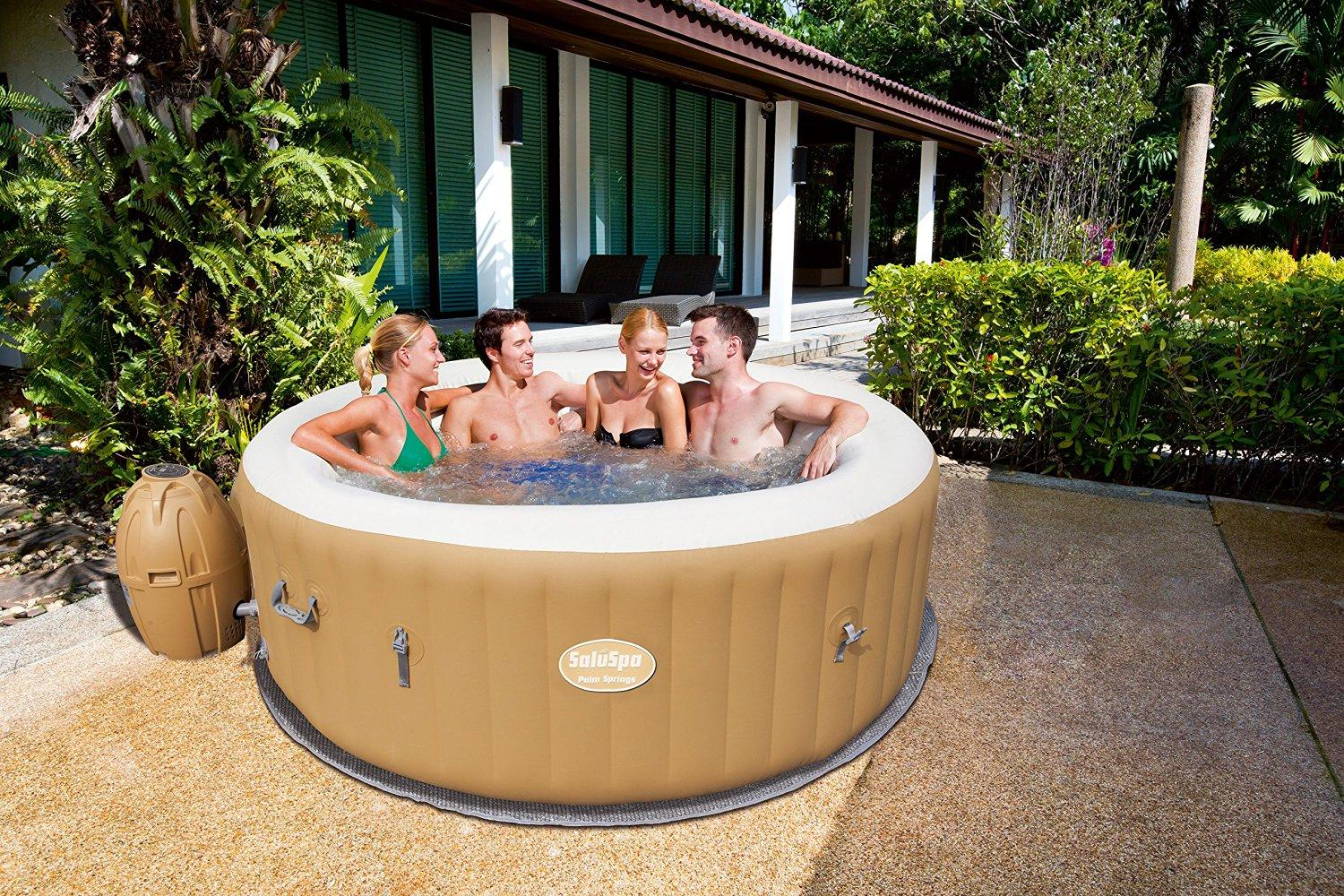 Garten Pool Rechteckig Bestway Lay Z Spa Inflatable Hot Tub Reviews 2016 | Pool