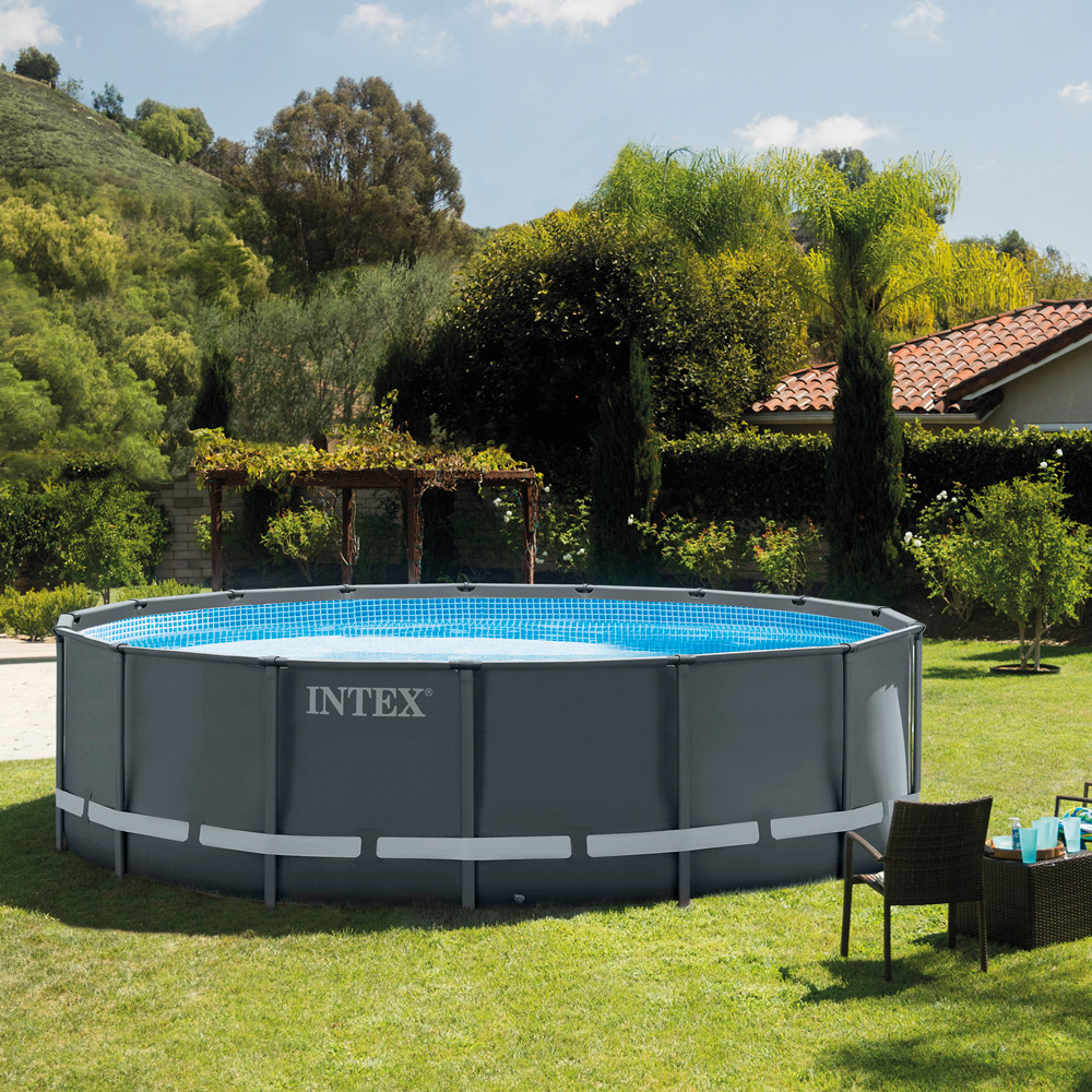 Intex Pool Frame Rund Ultra Round Frame Pool Pools123