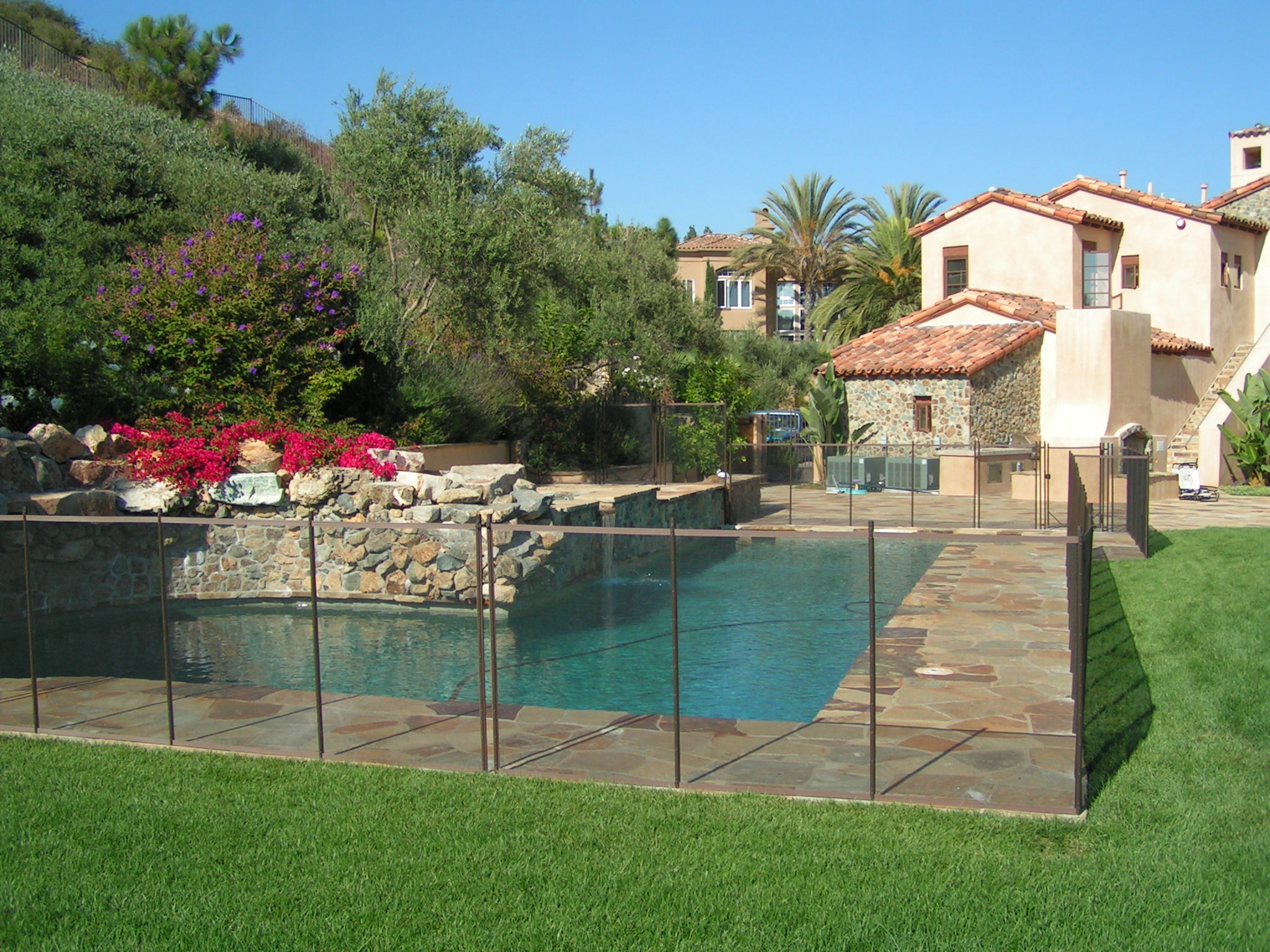 Pool Garten Zaun Removable Pool Fences Poolsafe Pool Fences And Covers