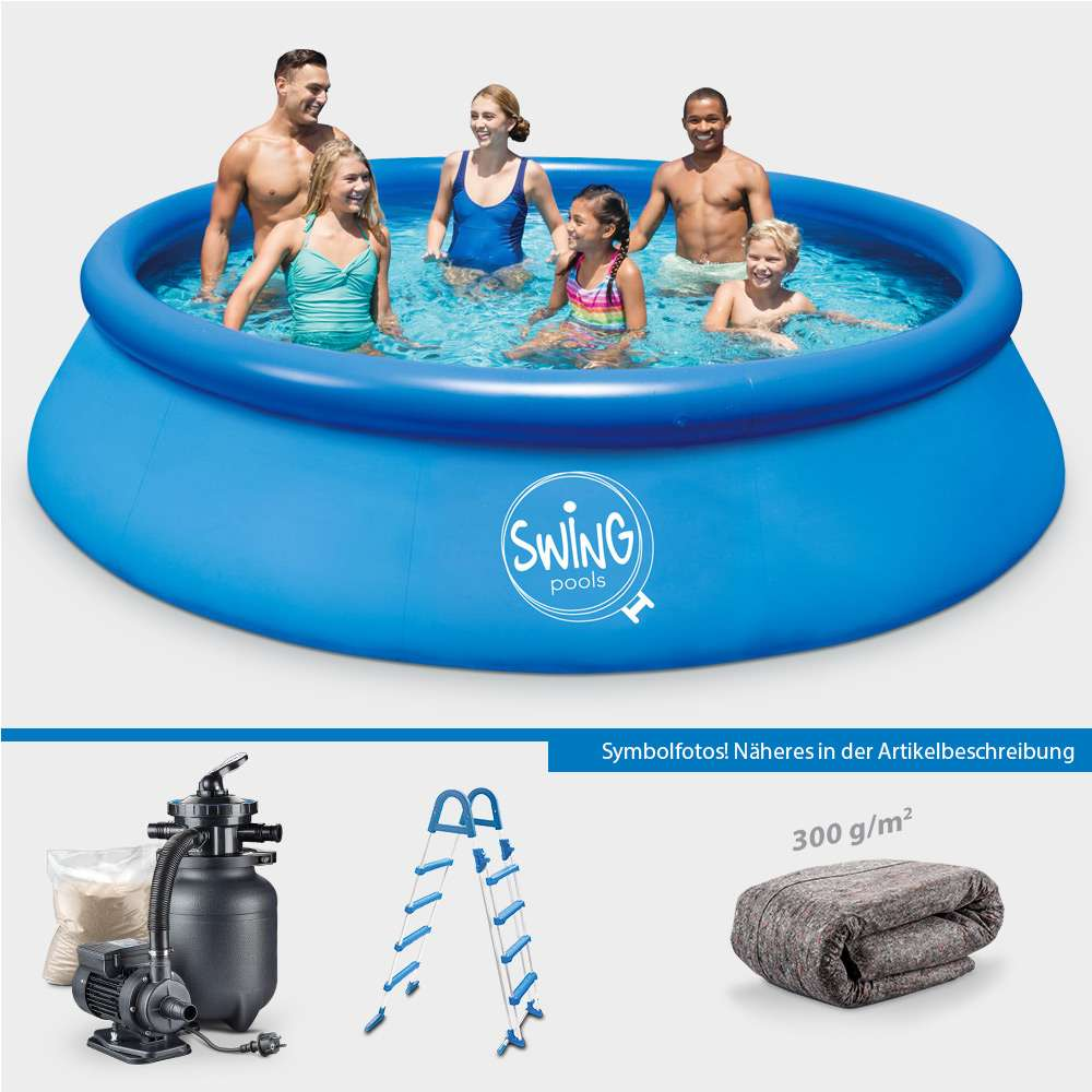 Solarfolie Pool Amazon Quick Up Pool Pronto 457 X 122 Cm Protect Set