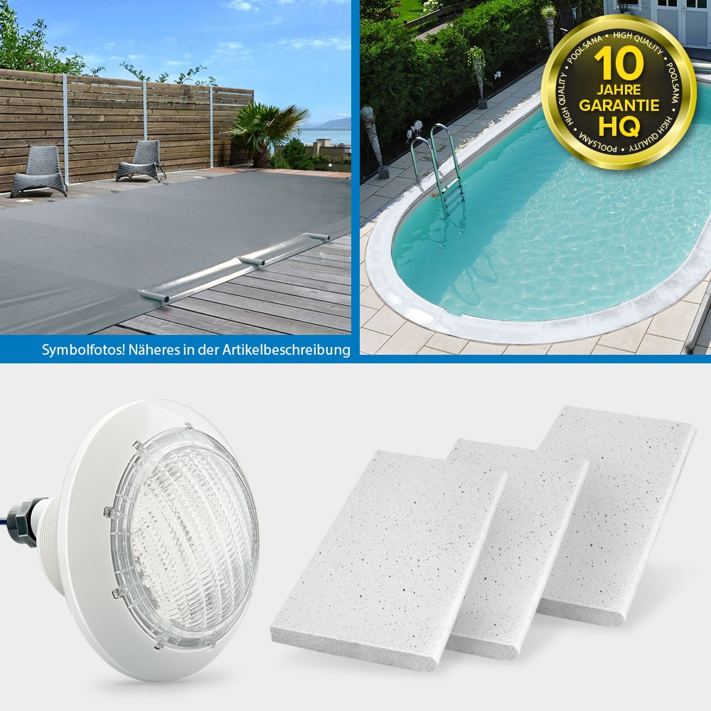 Solarplane Pool 700 X 350 Conzero Ovalpool Poolsana Hq 5 25 X 3 20 X 1 50 M Promo Set