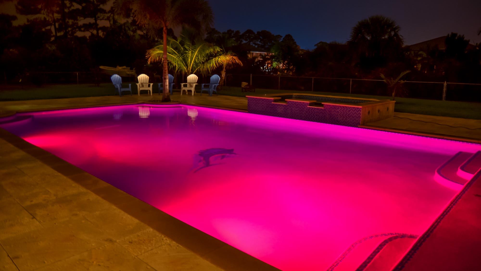 Outdoor Swimming Pool Berlin Color Lights For Swimming Pools Poolside Designs