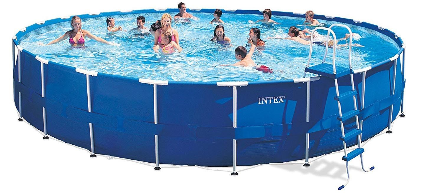 Intex Pool Frame Rund Intex Metal Frame Pool Review Pools And Tubs