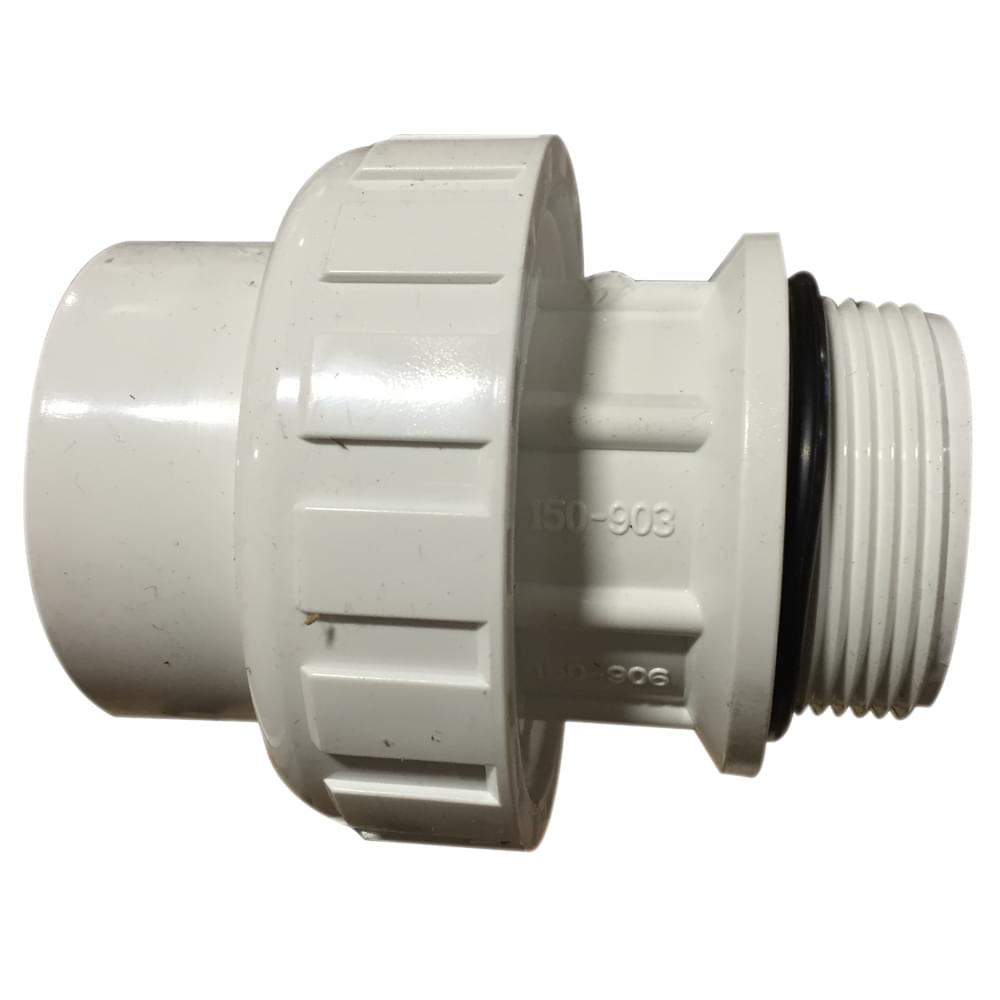 Jacuzzi Pool Pump Union 1 5 Inch Pvc Union Skt Mip With O Ring